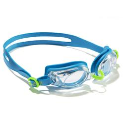 SWIMMING GOGGLES 100 AMA SIZE S BLUE GREEN