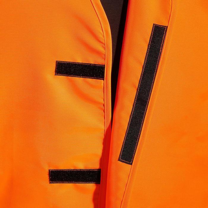 Peto Caza Solognac Naranja Fluo