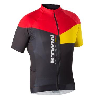MAILLOT VELO MANCHES COURTES HOMME 700 BELGIUM
