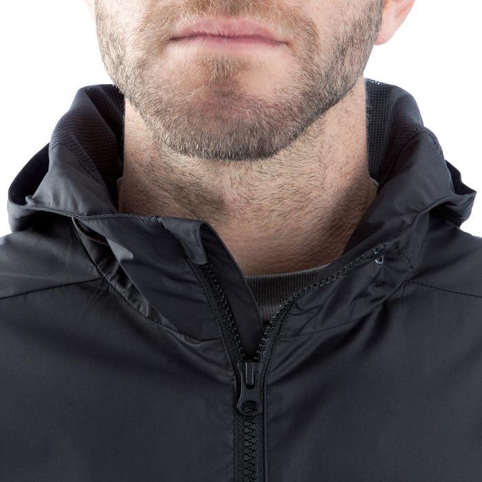 Veste pluie imperméable de football adulte T500 noire - 838498