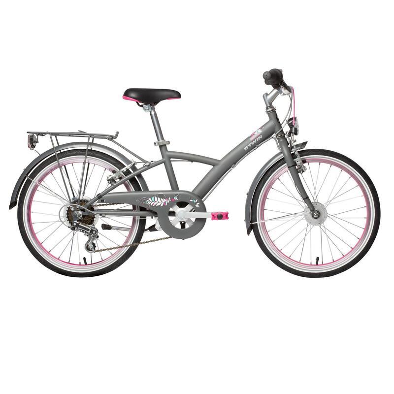 "Mistigirl 540 Kids' 20"" City Bike 6-9 Years"