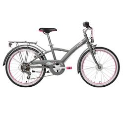 "Kinderfahrrad City Bike 20"" Mistigirl 540 Kinder grau/pink"