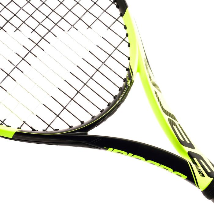 Tennisracket voor volwassenen Pure Aero zwart/geel - 838798