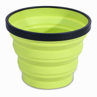 Компактна склянка X-Cup для трекінгу, 0,25 л - Зелена