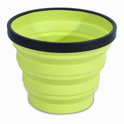 Verre compactable trekking X-CUP 0,25 litre vert