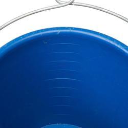 Stijve emmer van 10 liter met oog voor boot blauw - 839344