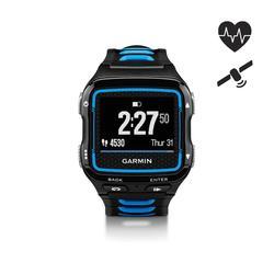 Gps-horloge en hartslagband voor multisport Forerunner 920XT blauw/zwart