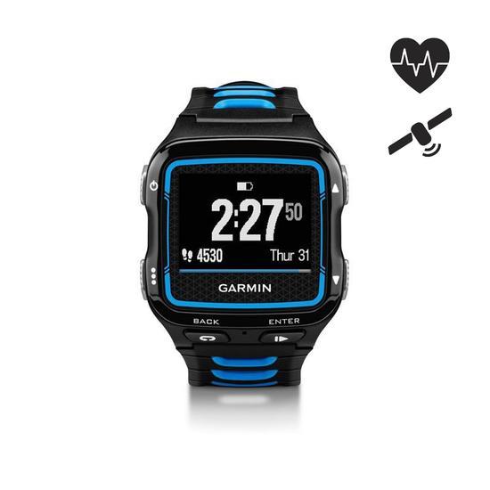 Gps-horloge en hartslagband voor multisport Forerunner 920XT blauw/zwart - 839380