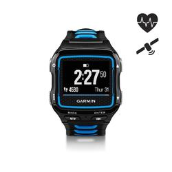 Reloj GPS con cinturón pulsómetro multideporte Forerunner 920XT azul/negro