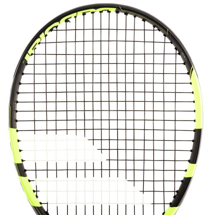 Tennisracket voor volwassenen Pure Aero zwart/geel - 839446