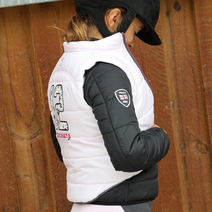 Veste équitation enfant SAFY noir - 839950