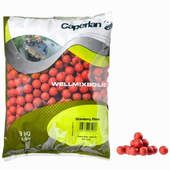 Boilies lokaas karpervissen Wellmix Boilies 1 kg - 840023
