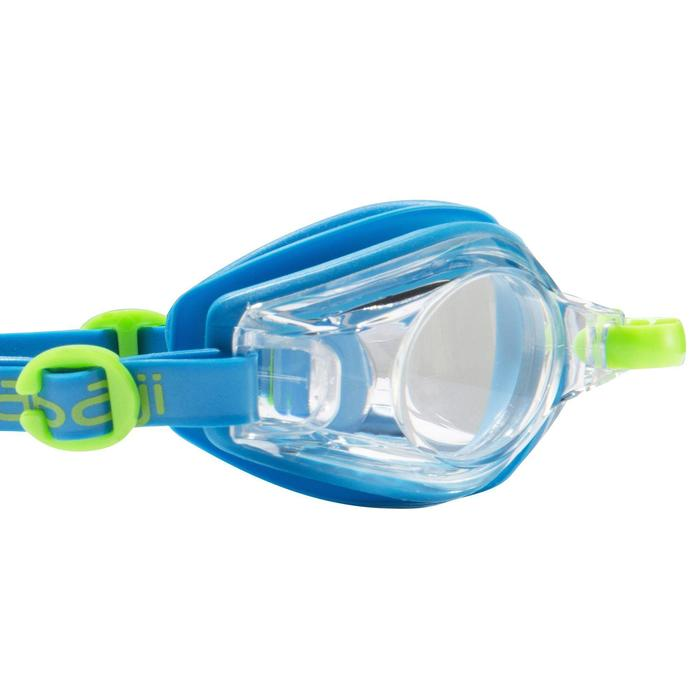100 AMA Swimming Goggles, Size S Blue Green