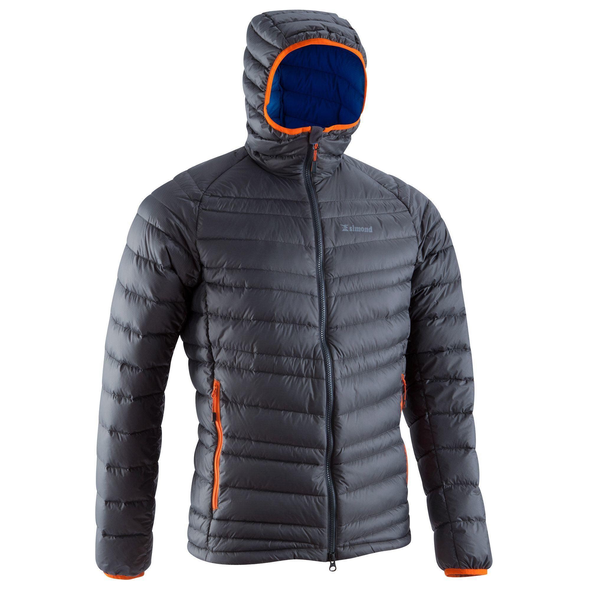 Men's Light Down Jacket - Black | Simond