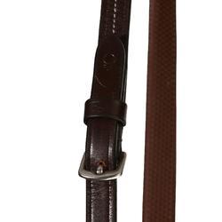 Hoofdstel + teugels Tinckle ruitersport bruin - pony en paard - 840396