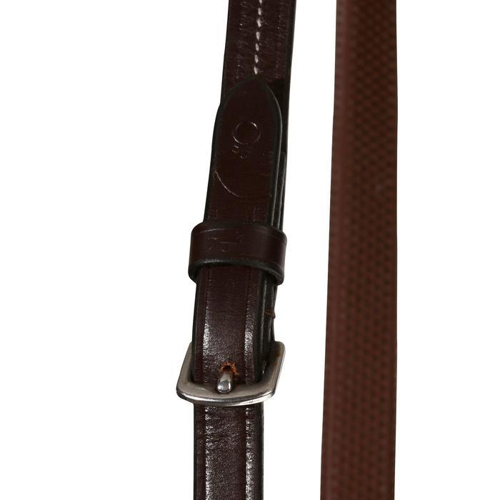 Filet + rênes équitation cheval et poney TINCKLE marron - 840396