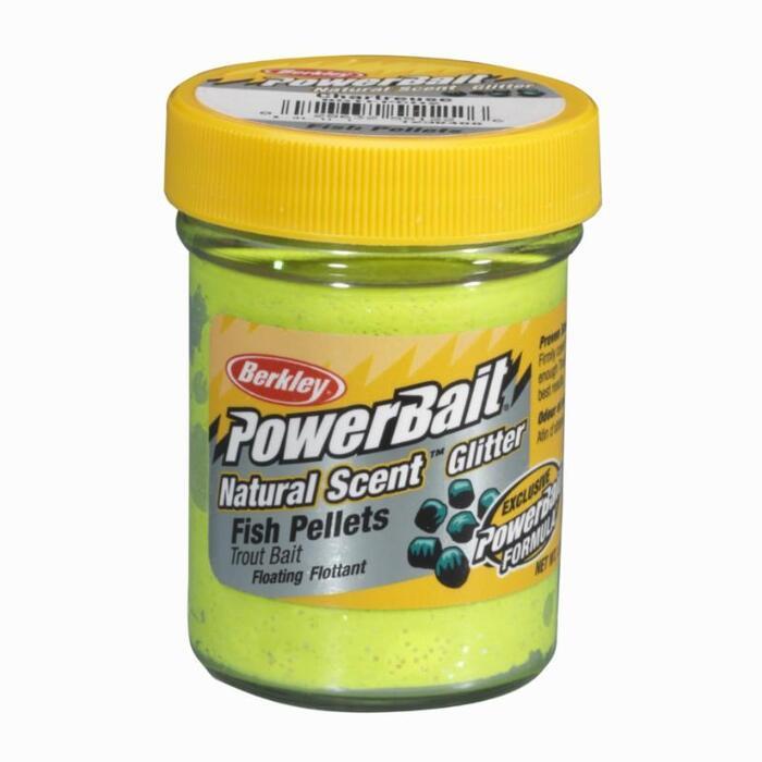 Kunstaas voor forelvissen natural scent fish pellets