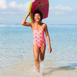 Meisjesbadpak LG Brush gekruiste rug - 840561