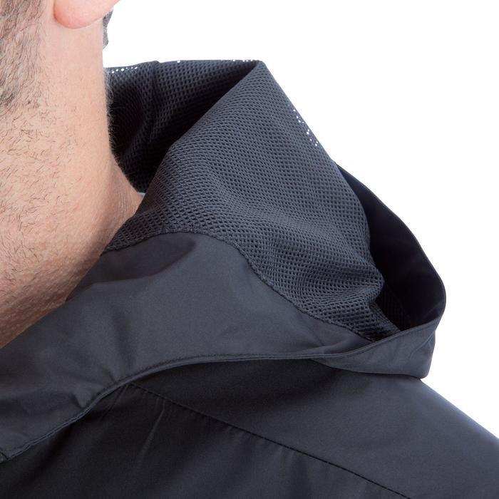 Veste pluie imperméable de football adulte T500 noire - 840814