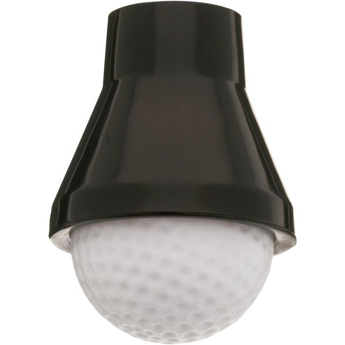 Golf Ballaufheber für Putter schwarz