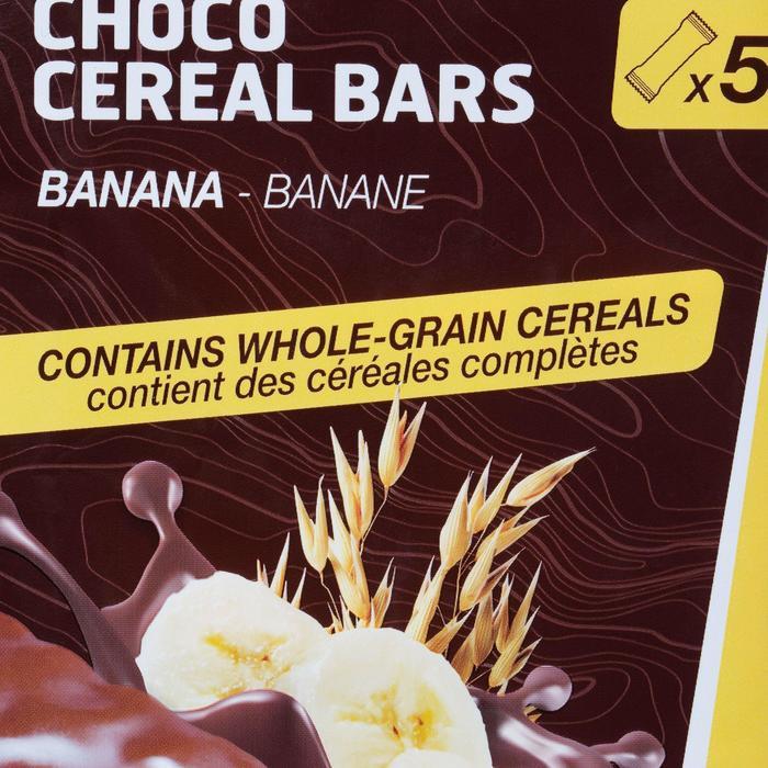 Barre de céréales enrobée ECOSIZE chocolat banane 10x32g - 841207