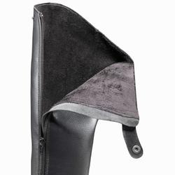 Warme ruiterlaarzen voor volwassenen JOAO kuitmaat M, zwart - 841320