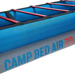 Opblaasbaar veldbed Camp Bed Air 70 blauw - 841565