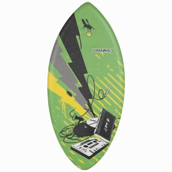 Schuimrubber skimboard 100 voor volwassenen, 123 cm. - 841607