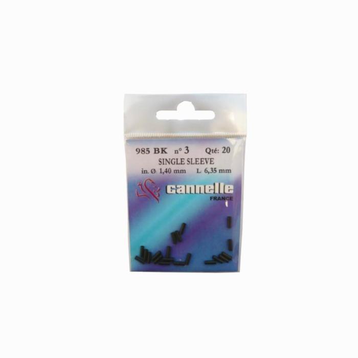 AVANCONS PECHE CARNASSIER<12KG Avançons pêche carnassiers SLEEVES NOIRS 985 BK - 841700
