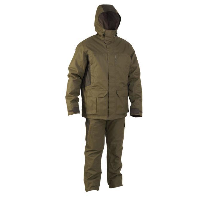 Pantalon chasse imperméable chaud 500 - 841860