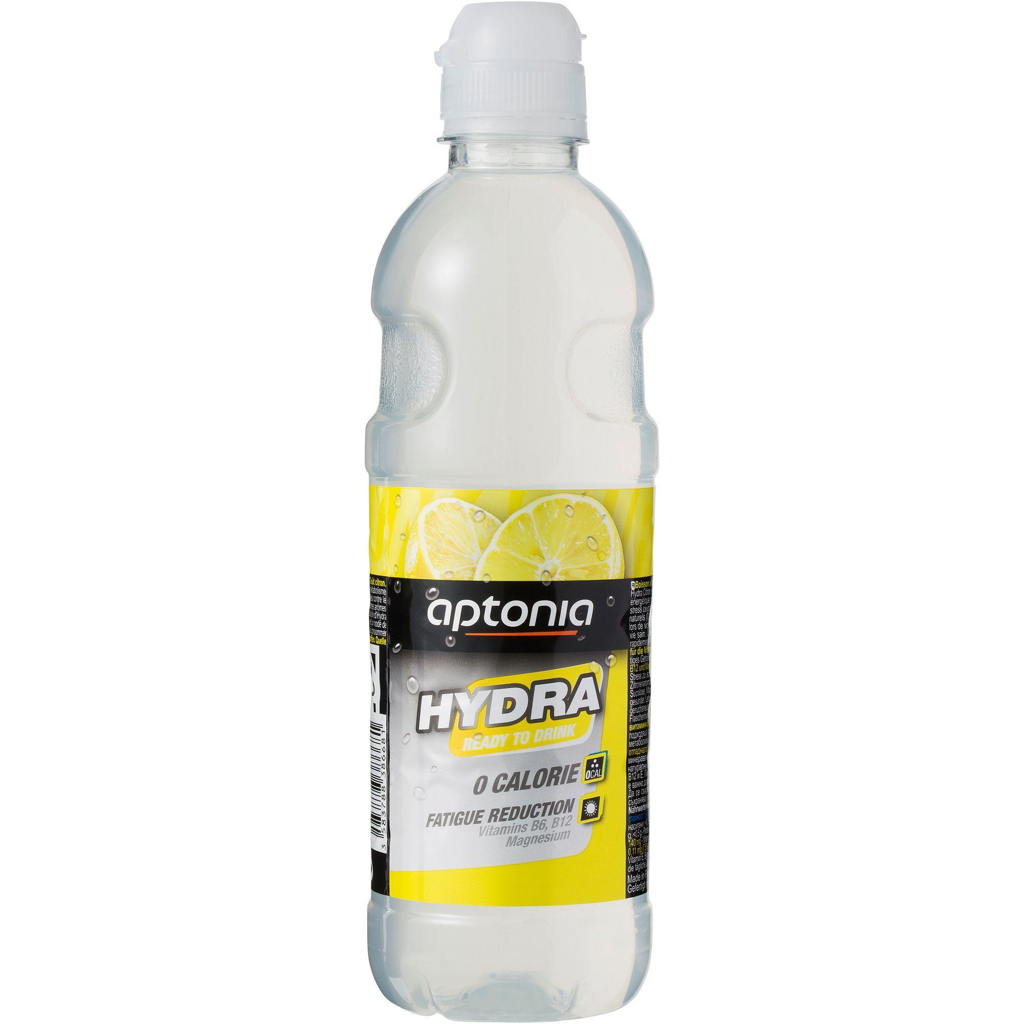 Aptonia Drank op basis van gearomatiseerd natuurlijk mineraalwater Hydra citroen 500 ml