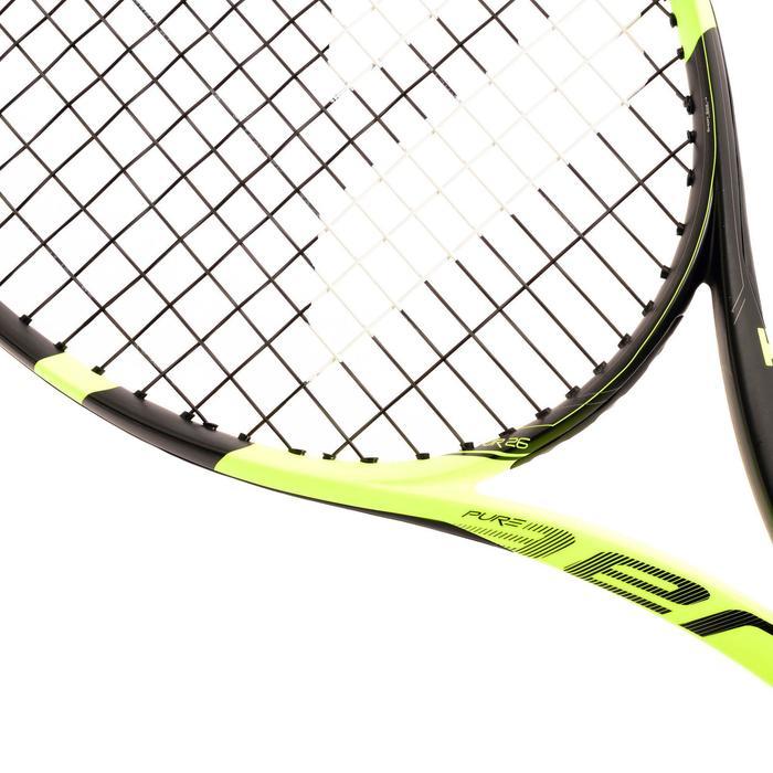 Tennisracket voor kinderen Pure Aero 25 zwart geel - 842440