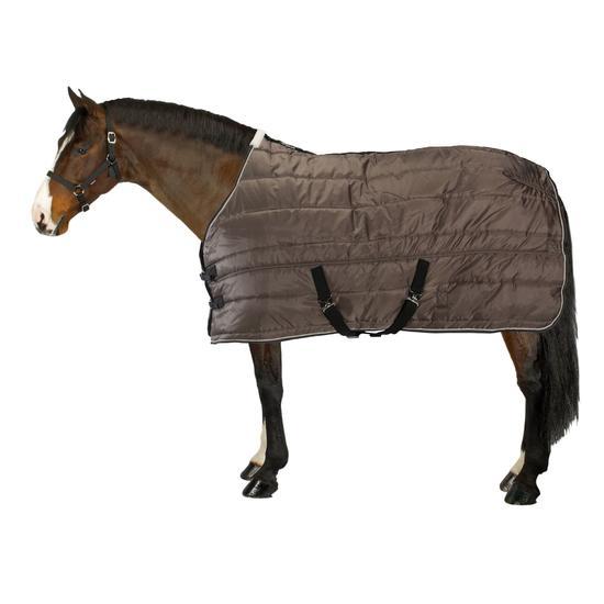 Staldeken Stable 200 ruitersport bordeaux - paard - 842468