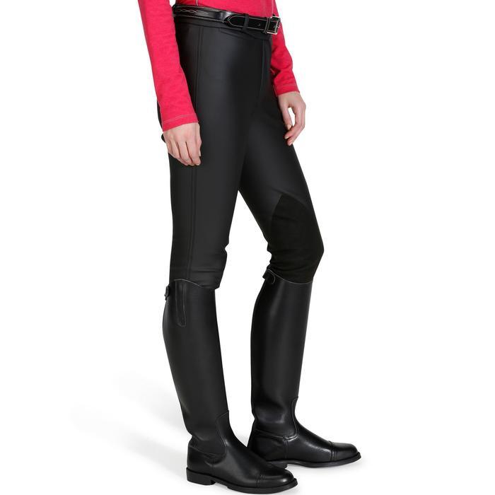 Pantalon imperméable chaud et respirant équitation femme KIPWARM - 842599