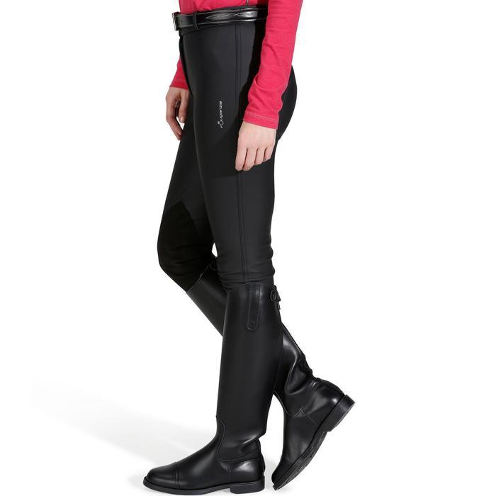 Pantalon imperméable chaud et respirant équitation femme KIPWARM - 842765