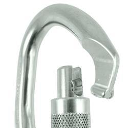 GOLIATH HMS POLISHED SCREW SNAP HOOK FOR CLIMBING AND MOUNTAINEERING