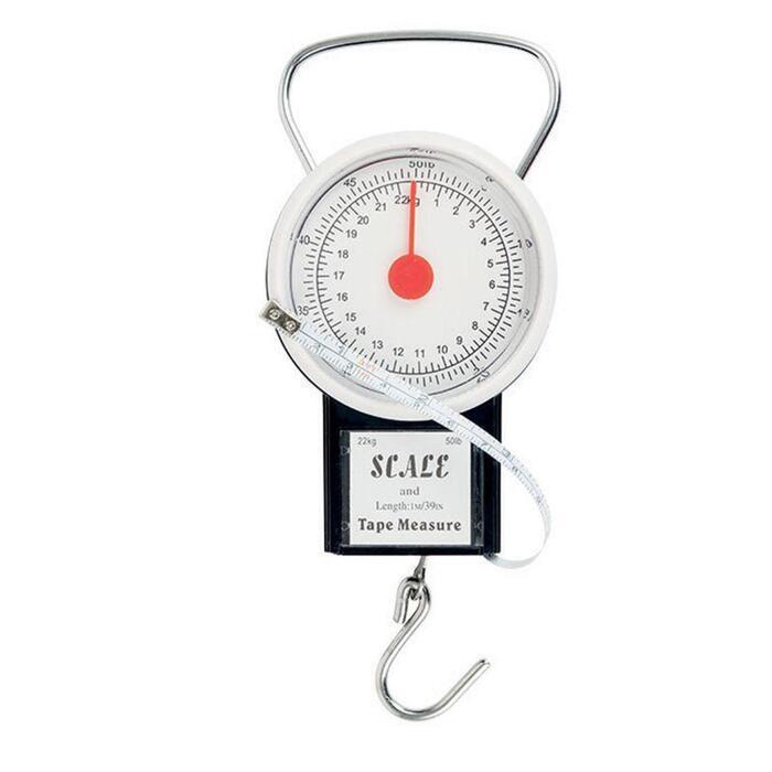 Mini-Waage bis 22 kg Raubfischangeln
