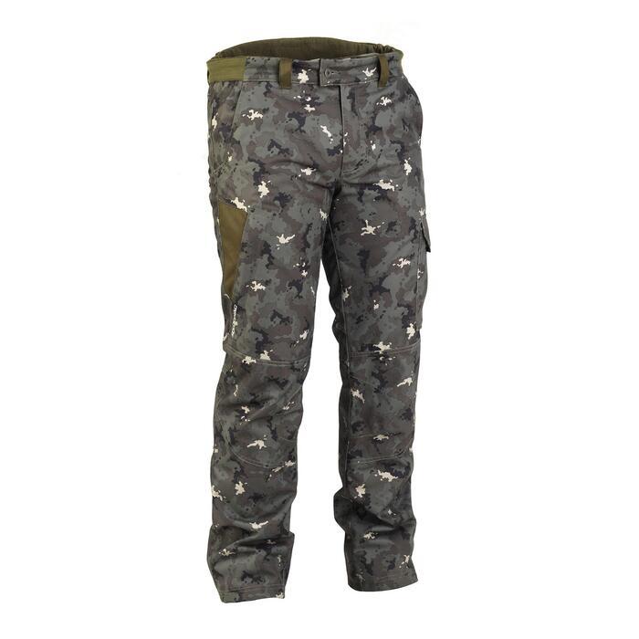 Pantalon chasse imperméable chaud 500 - 843144