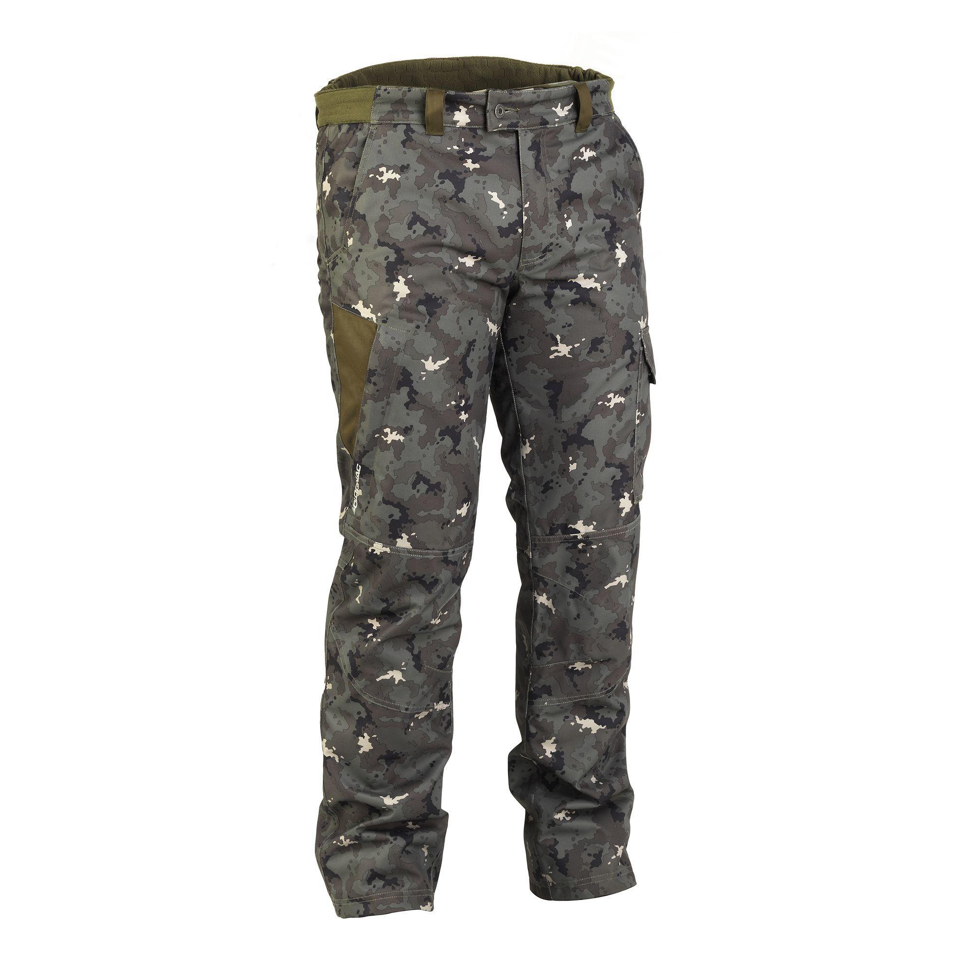 Solognac Warme waterdichte broek voor de jacht 500