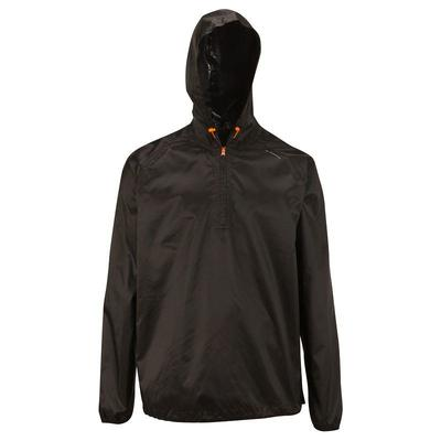 Chaqueta Lluvia Excursionismo Rain-cut Hombre Negro