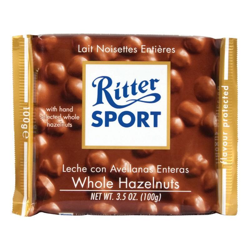 Chocolat au lait sport noisette 100g