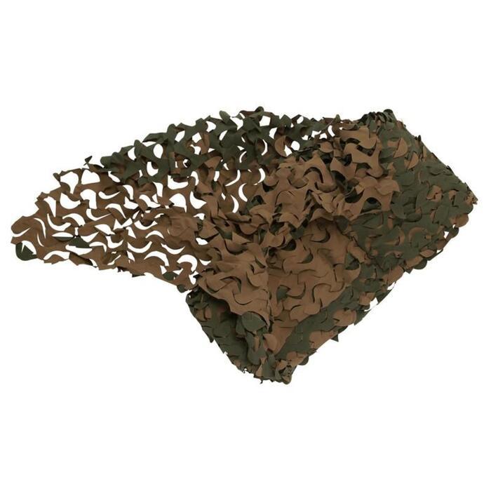 Filet camouflage woodland 3m X 2.4m - 843788