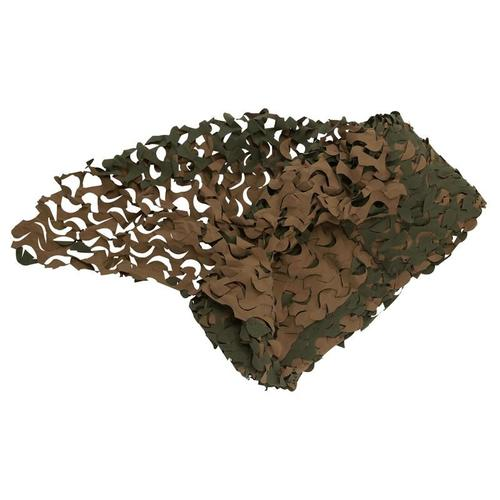 FILET CAMOUFLAGE CHASSE WOODLAND 3M X 2.4M