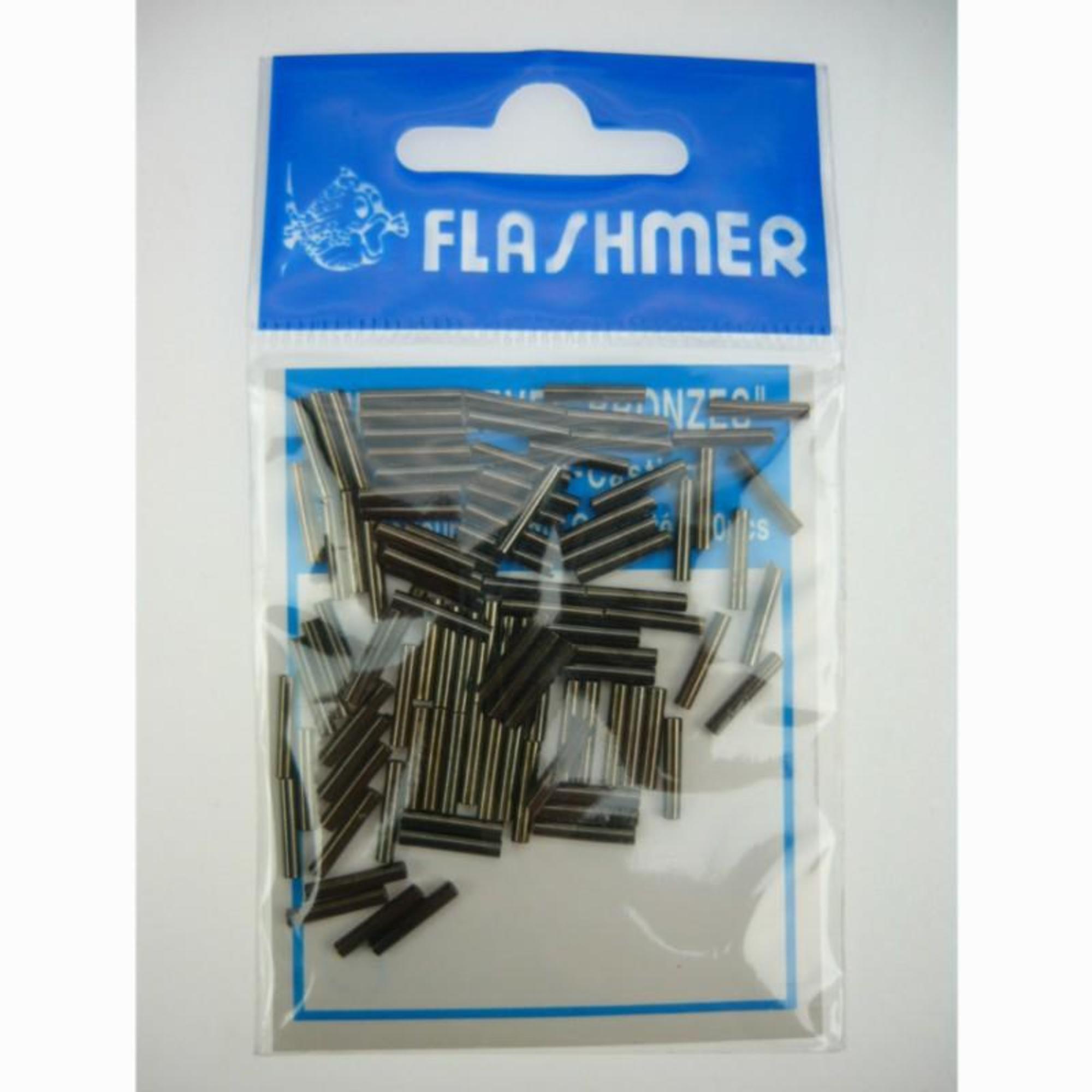 Flashmer LIJNMONTAGE ZEEVISSEN MINI SLEEVES 0,6 MM x 100