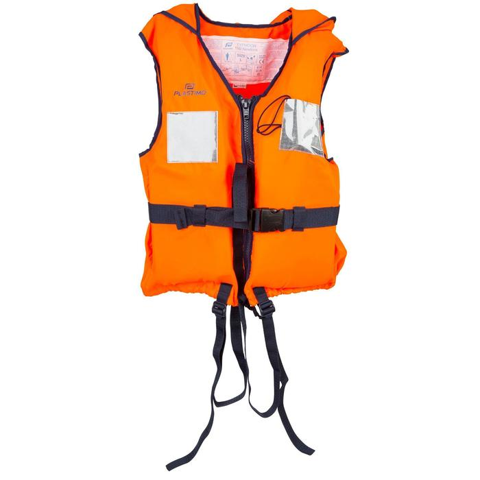 Gilet de sauvetage mousse adulte TYPHON 150N orange - 844453