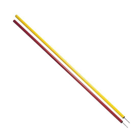 Set van 3 slalomstokken voor de training geel/rood - 844666