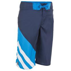 Bañador Boardshort largo niño Lafitenia Joker azul