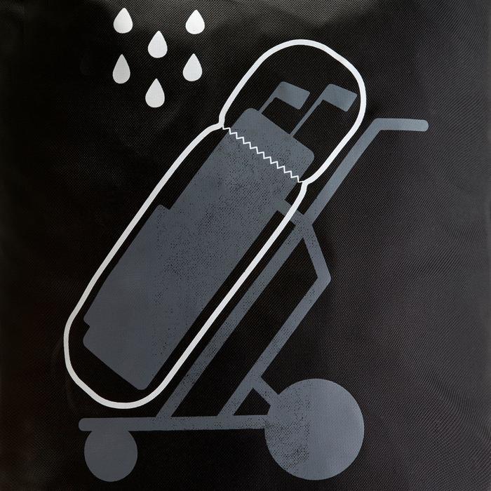 Regenhoes Essential zwart