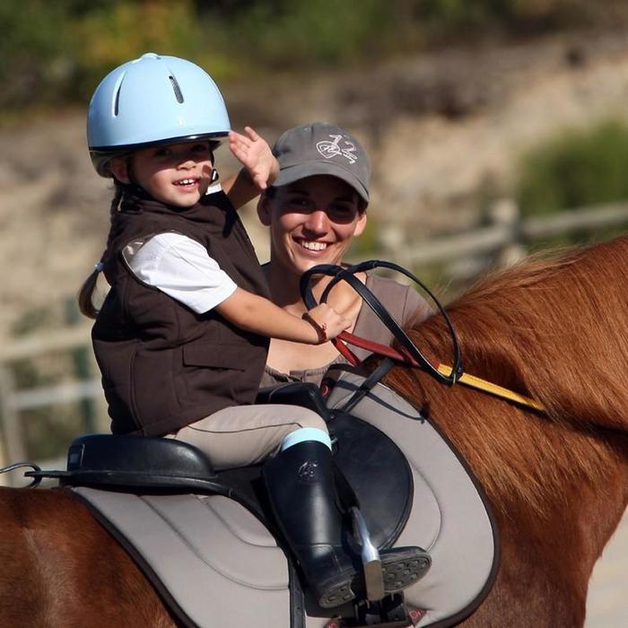 Bottes équitation enfant SCHOOLING BABY noir - 845309