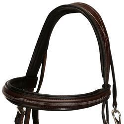 Hoofdstel + teugels Tinckle ruitersport bruin - pony en paard - 845380